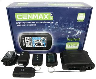 автосигнализация Cenmax Vigilant V-10D