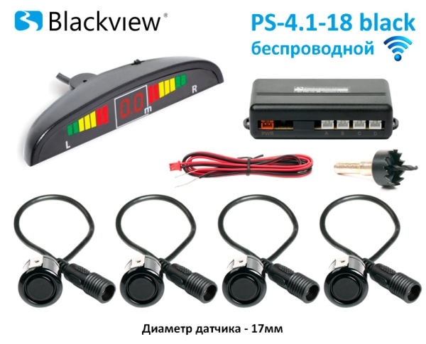 Беспроводной парктроник Blackview PS-4.1-18 Wireless