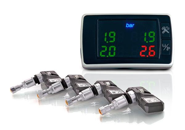 Комплект датчиков давления в шинах Carax TPMS CRX-1001