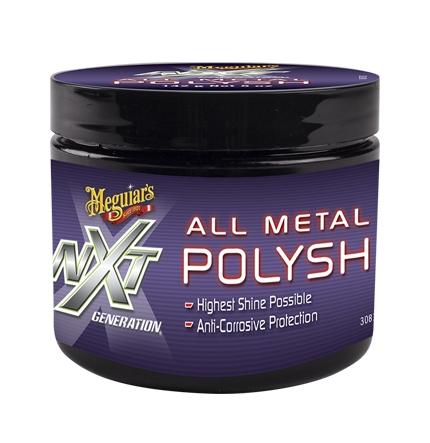 Полироль металлических поверхностей Meguiar's NXT Generation All Metal Polish