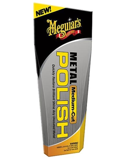 Среднеабразивный полироль Meguiar's Heavy Cut Metal Polish