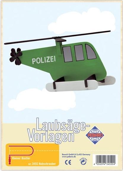 """Модель для выпиливания лобзиком """"Вертолет"""""""