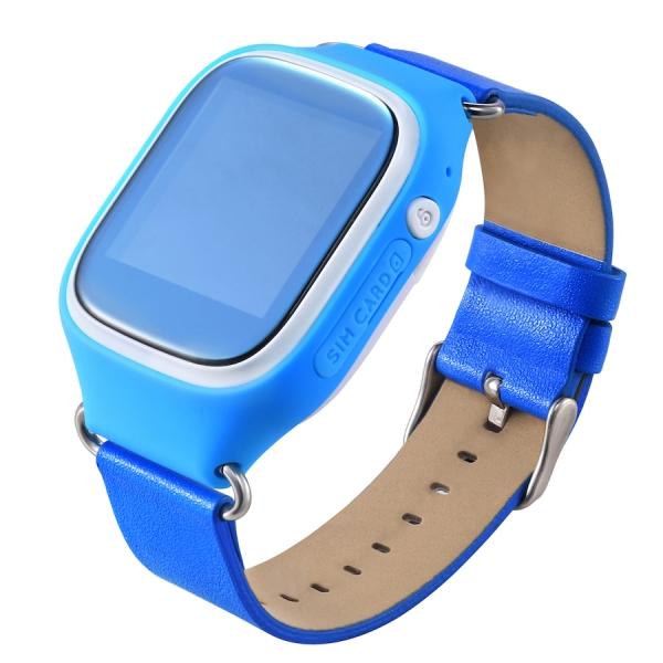 Детские часы с GPS трекером MonkeyG S70 Blue