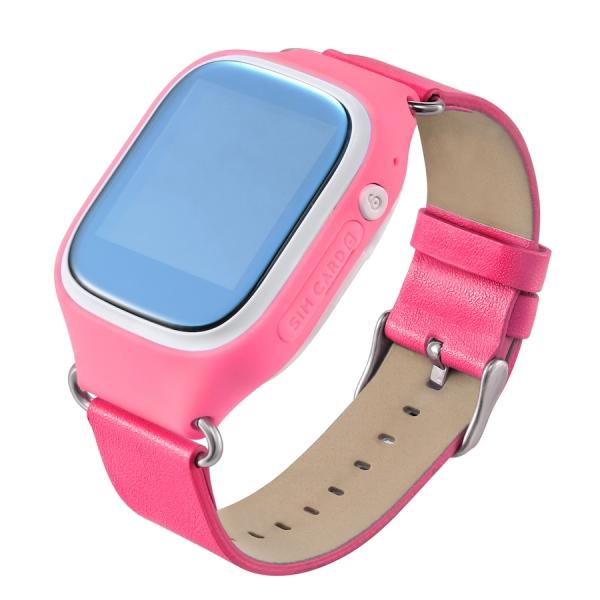 Детские часы с GPS трекером MonkeyG S70 Pink