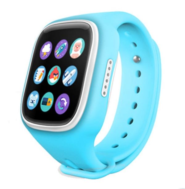Детские часы с GPS MonkeyG S80 Blue