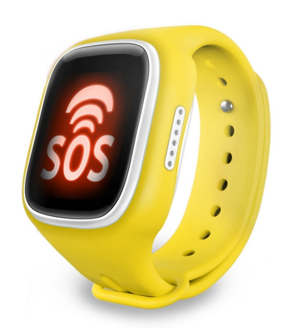 Детские часы с GPS MonkeyG S80 Yellow