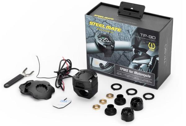 Система контроля давления в шинах для мотоциклов SteelMate TP-90