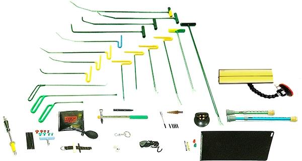 комплект PDR оборудования из 52 предметов