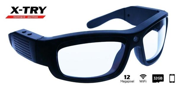 Экшн камера-очки X-TRY XTG300C